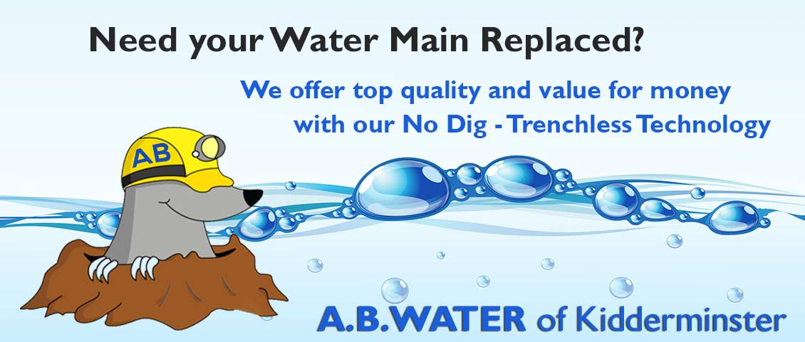 A B Water Website by Sammy Southall Webworks
